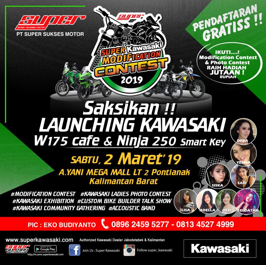 EVENT SUPER KAWASAKI CONTEST PONTIANAK