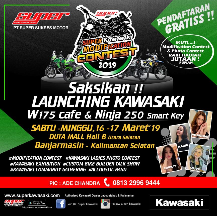EVENT SUPER KAWASAKI CONTEST BANJARMASIN
