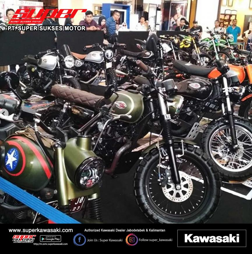 Super Kawasaki Modification Contest 2019 EWALK BSB Balikpapan