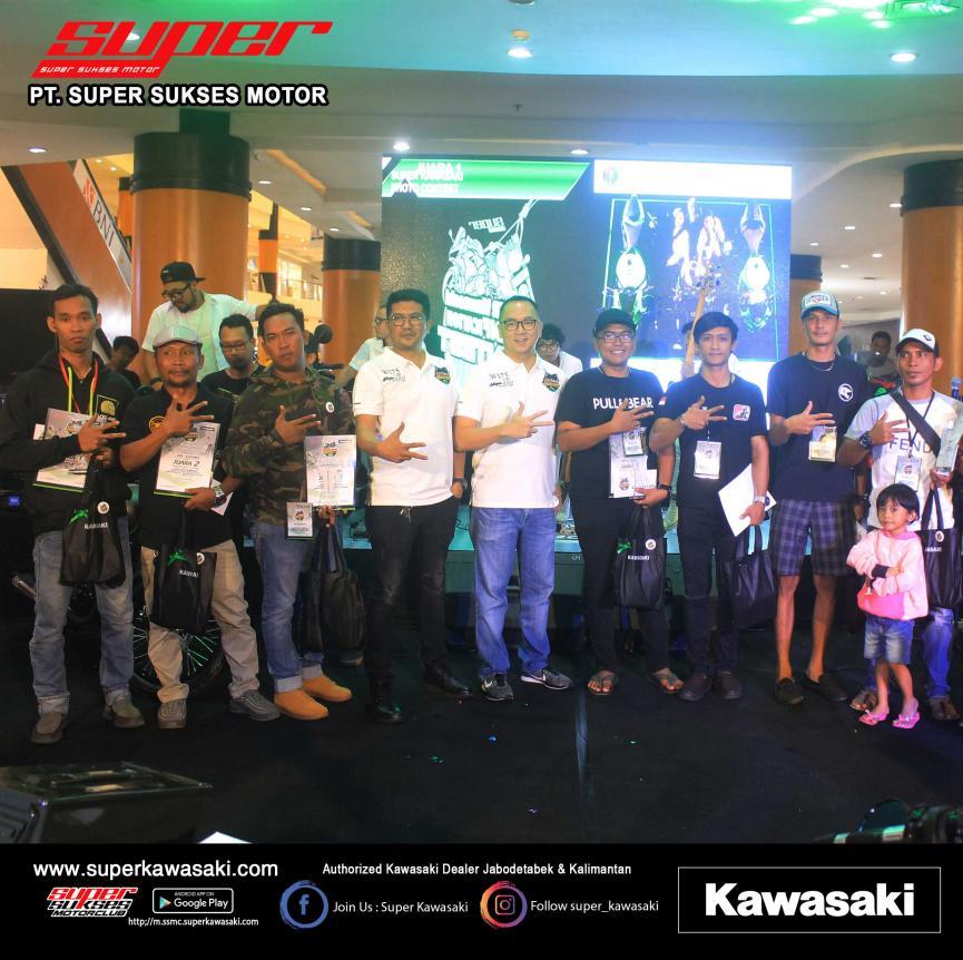 Pemenang Super Kawasaki Modification Contest 2019 Duta Mall Banjarmasin