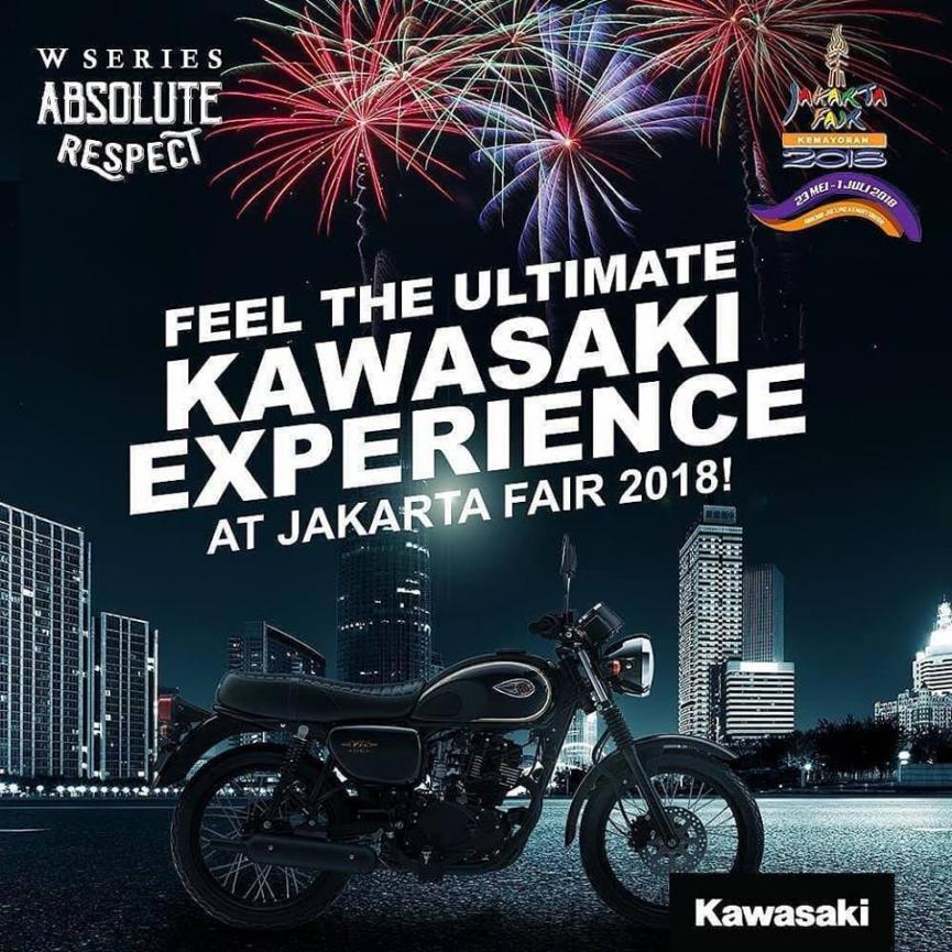 Program Kawasaki  Di Jakarta Fair 2018